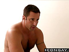 Big muscled daddies like to have sex after a conversation  scene 2