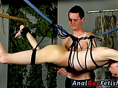 Male bondage and castration and bodybuilder men in bondage gay first time When Aiden