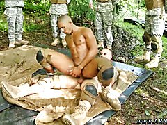 even some of the other privates got involved in this