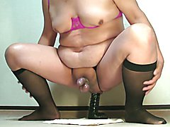 Prostate milking with my favourite dildo Feb-09-2015
