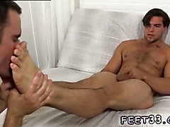 Free gay german boys hard sex Cameron Worships Aspen's Feet & Makes Him Cum