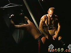 Smooth shaved up men fucking fisting free videos gay Scott, in restrain bondage inbetween