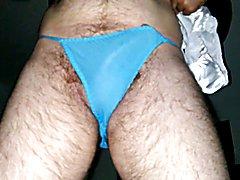 Cumming in my satin panties