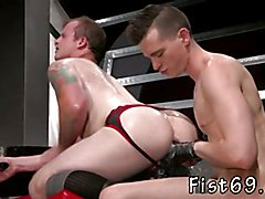 Gay senior muscle sex first time Tatted beauty Bruce Bang and fetish stud Axel Abysse