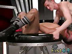 Teacher fuck fist boy gay Aiden Woods is on his back and bellows to Axel Abysse, 'fuck my