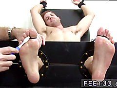 Ticklish Dane Back For More  Older guys getting there