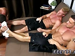 Feet movies of gay male emos and twinks and gay hairy legs feet thumb first time Ricky