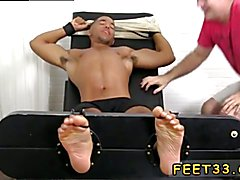 Free gay men sucking other mens feet Mikey Tickle d In The Tickle Chair