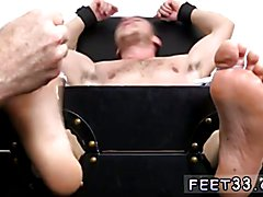 Hot sexy gay black men fuck and squirt free porn Kenny Tickled In A Straight Jacket