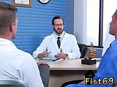 Video of man sucking cock in gay porn shop xxx Brian Bonds heads to Dr. Strangeglove's