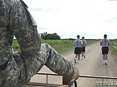 Military men giving head gay first time A super-naughty training day completes with