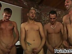 Big gay twink galleries and free african gay twinks movies James Takes His Cum Shower!