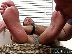Aaron Bruiser Lets Me Worship His Big Sexy Feet Foot