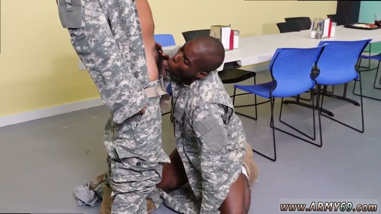 Drill sargeant with a black cock