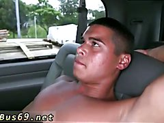 Bear licking gay twinks nipple Riding Around Miami For Cock To Suck!