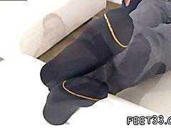 Young school gay boys having sex in class Spying On Ravi's Size ten Feet & Socks
