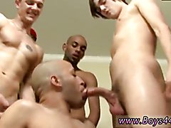 dad gay sex photos Versatile Latino Gets Covered in Cum