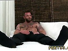 Cuban male bare feet and gay phone sex chat free first time Derek Parker's Socks and Feet