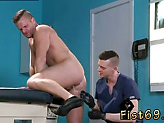 Boy fisting age gay Brian Bonds stops in to observe his doctor about his obsession with
