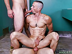 Good Anal Training Straight army men first gay