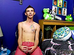 One man have two dick new gay porn and limp old He's a little shy and shy during the