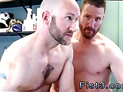 Young boy fist his mate gay First Time Saline Injection for Caleb