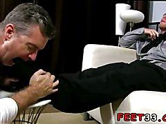 Gay teen boys sucking slippery toes videos Scott Has A New Foot Slave