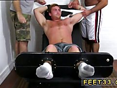 Foot and dicks male gay sex first time Connor Maguire Tickled Naked