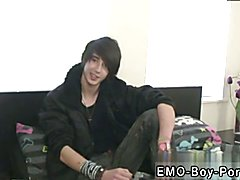 Emo gay twink reverse cowboy first time Hot shot bisexual boy Tommy is fresh to the porn