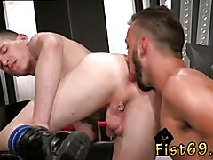 Tube male first time fisted and fisting gay twinks Aiden Woods is on his back and bellows