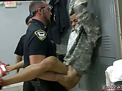 Police hunks cum movie gay first time Stolen Valor