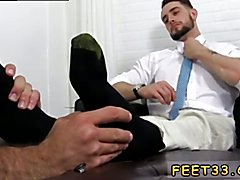 Dick and feet movie gay xxx KC's New Foot & Sock Slave