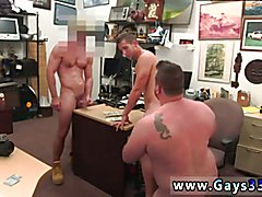 Gay old group movie Guy completes up with ass-fuck hookup threesome