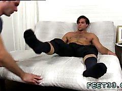 Emo gay sex gear Cameron Worships Aspen's Feet & Makes Him Cum