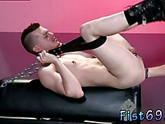 Xxx gay sex arabic man solo video Axel Abysse crouches on a fisting bench with his donk