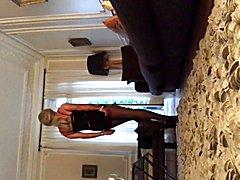 TRAVESTI CD TS TV SISSY EXHIB COLLANTS PANTYHOSE walk