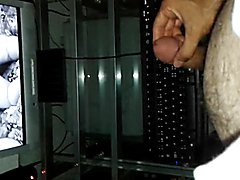 Masturbation in front of a nice video-lady