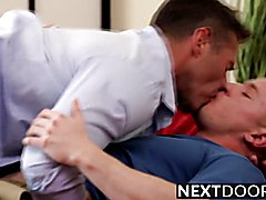 Sexy Dean Phoenix and Chris Blades doggystyle sex time