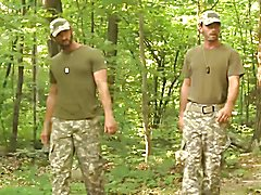 Connor Habib gets caught trespassing and pissing in the woods of a military test zone by CJ ...