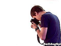 Jockstrap UK hunks behind scenes photoshoot