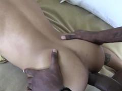 Latino Takes BBC Raw Internal Cum Cum-Shot