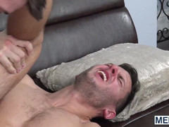 Aroused boy slut spreads his butt hole with both hands for poking
