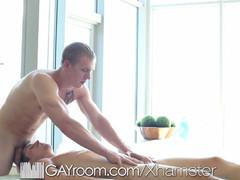 Hd gayroom fine massage and sex session