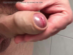 Dropping a load of phat semen