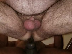 I was hammering my husband and decided to internal cum