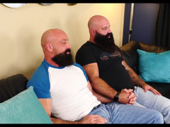 Two Haired bearded bears pounding hot - Jason Victor West