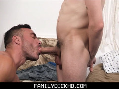 Lad Step Daddy And His Best Friend Take Turns On Step Son