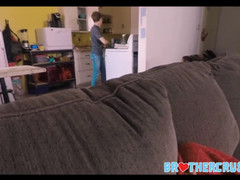 Two Jock Step Brothers Take Turns Pounding Teenager Step Brother