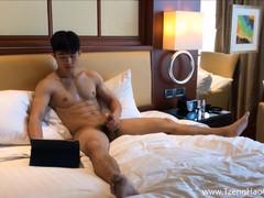 Appealing Asiatic Muscle Boy