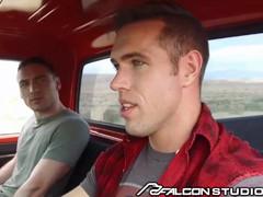 Nice College Teenager Blows Hot Old Man Alex Mecum In Pickup Truck